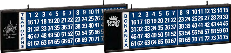 Tear-Opens/Bonanza Bingo Flashboard