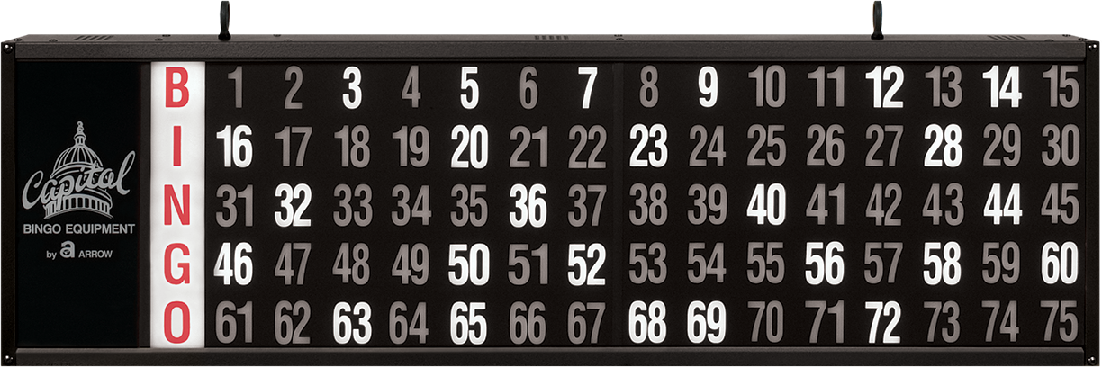 Numbers Only Bingo Flashboard