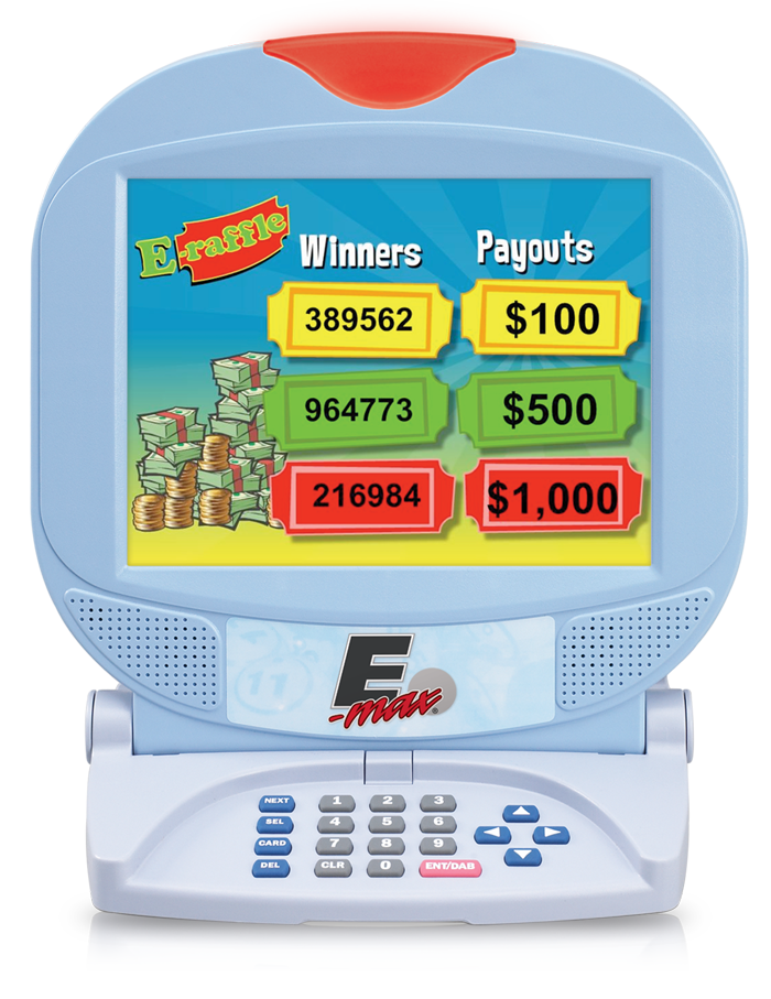 E-max E-Raffle software