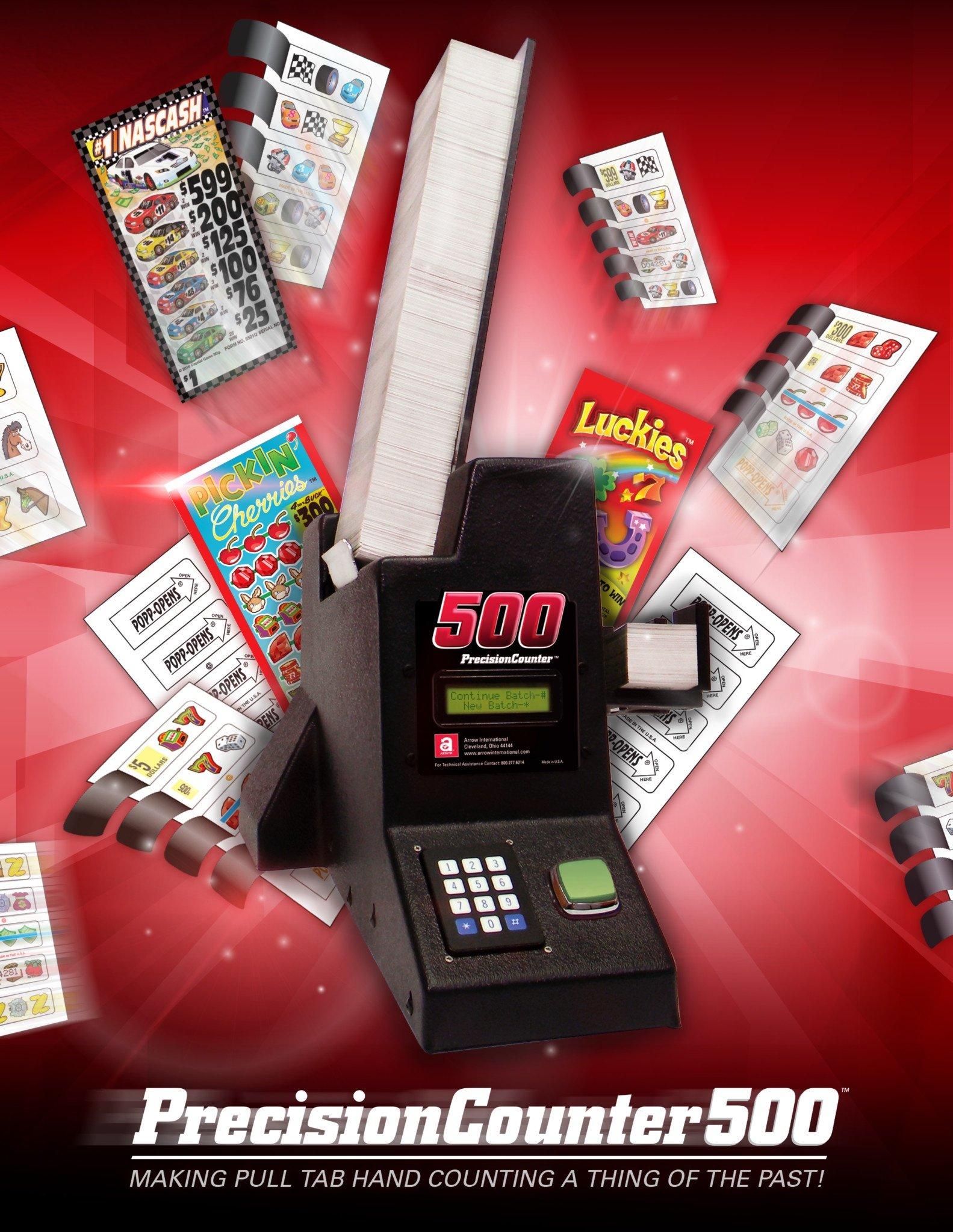 PrecisionCounter500 Brochure Promotional Materials/Equipment Flyers & Brochures